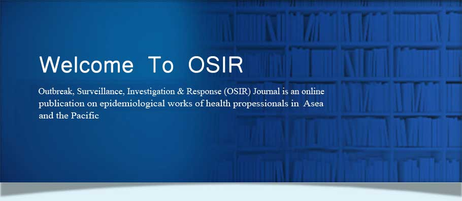 Welcome To OSIR